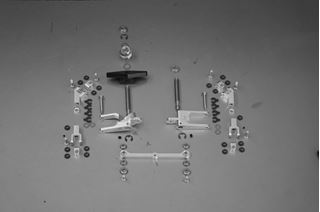 Picture of 3. Servosaver and Steering system