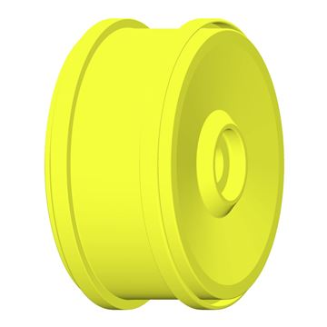 Afbeeldingen van 1:6 BU-BIG - WHEEL 132mm Y Yellow - Fixing with 24mm Exagon - 1 Pair
