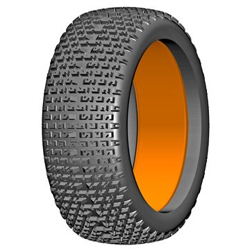 Afbeeldingen van 1:6 BU-BIG - MICRO - P1 Soft - 180mm Donut Tyre with Insert - 1 Pair