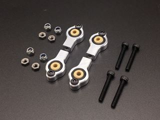 Bild von Light weight alloy steering rodend kit M4-3mm. for Ultron Zr.