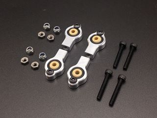 Bild von Light weight alloy steering rodend kit M4-3mm.