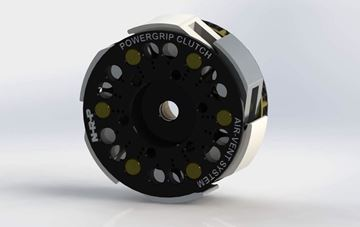 Picture of C002 N-R-P Powergrip clutch standard width PTFE and Alloy shoes